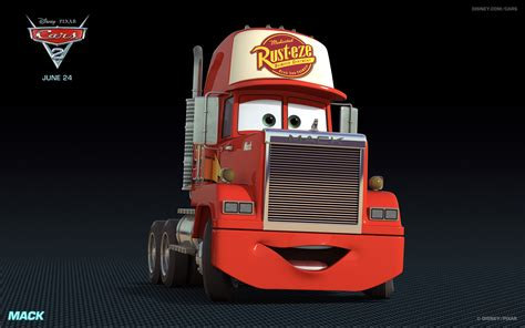 amck k mack the tractor trailer truck from disney s cars hd