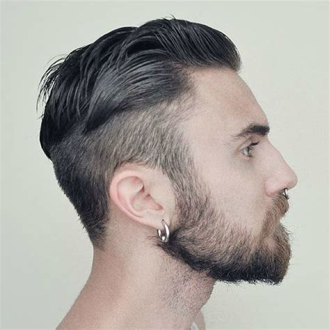 haircuts for guys with earrings very large silver captive bead earring hoop earrings