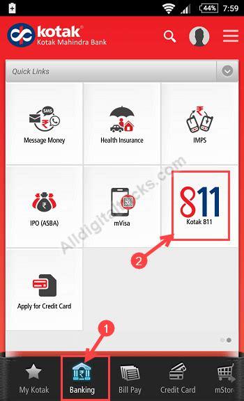 Bantal Kotak You Can Do It how to apply kotak 811 physical debit card alldigitaltricks