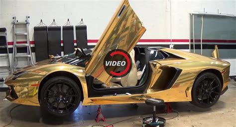 lamborghini custom gold here s how a lamborghini aventador roadster gets a shiny