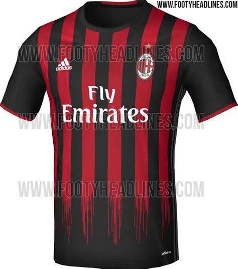 Jersey Ac Milan Home 16 16 17 milan home jersey leaked the ac milan offside