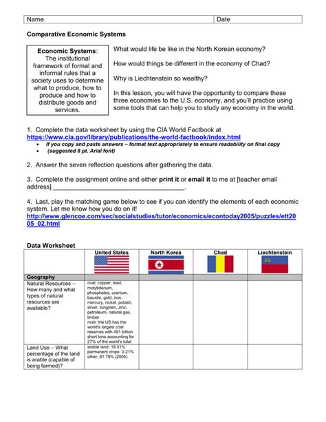 Population Pyramid Worksheet Answers