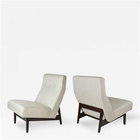 Jens Risom Lounge Chair by Jens Risom Jens Risom Armless Lounge Chairs