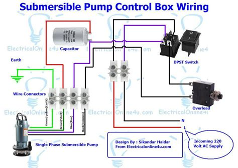 submersible box wiring diagram for 3 wire