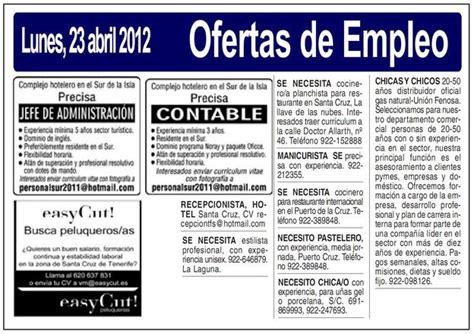 codigo laboral ofertas de trabajo ofertas de empleo c 243 mo crear y redactar una oferta de empleo gestion org
