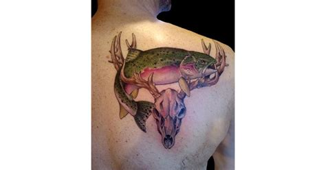 hunting and fishing tattoos 16 tattoos that the who got them hopefully