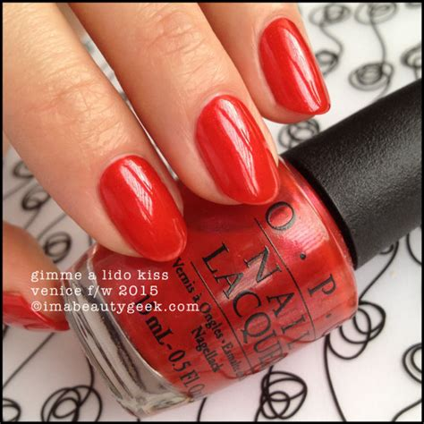 Gimme A Lido Opi opi venice fall winter 2015 swatches review