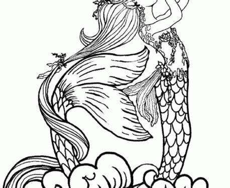 imagenes de sirenas para dibujar a lapiz dibujos para colorear de barbie sirena iii dibujos