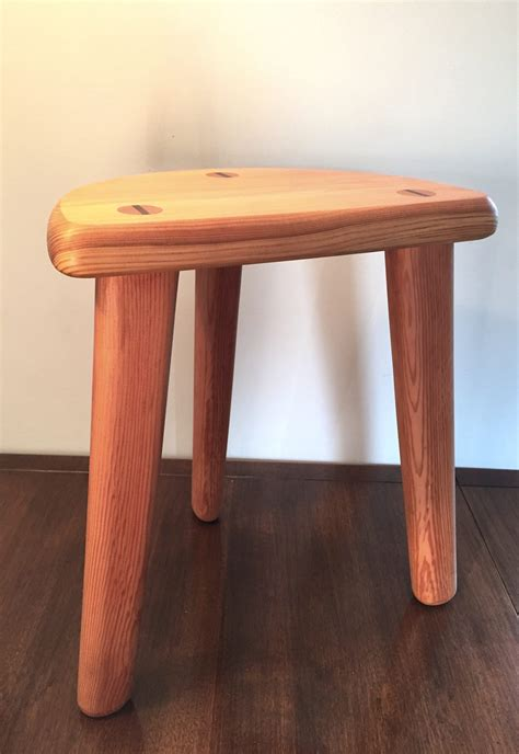 Handmade Furniture Scotland - stool thomson timber