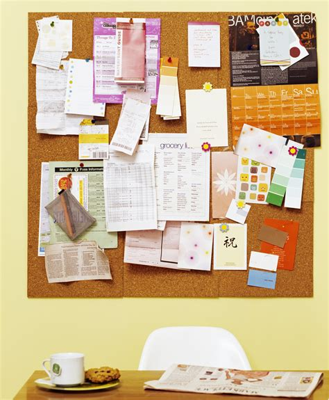 Office Bulletin Board Design Ideas by Bulletin Board Design For Home Office