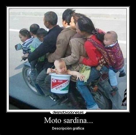 imagenes chistosas en moto moto sardina desmotivaciones