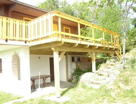 holzgel nder f r terrasse am 233 nagement terrasse r 233 novation et extensions maison ou