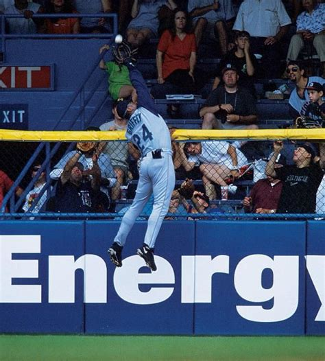 ken griffey jr backyard baseball ken griffey jr robs a home run at tiger stadium