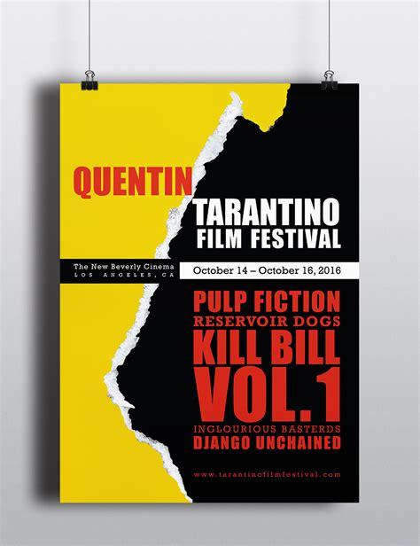 quentin tarantino film festival quentin tarantino film festival on behance