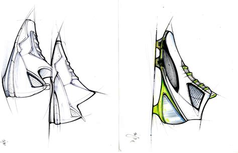 Sketches Of 8 by Mikey Design Shoe Sketches