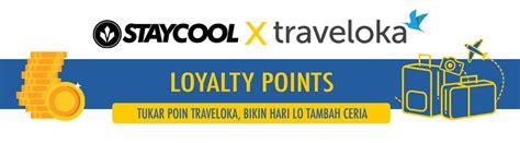traveloka loyalty points staycool socks