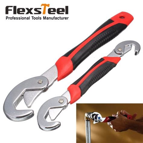 Multi Wrench flexsteel 2pc multi function universal wrench set snap and grip wrench set 9 32mm for nuts and