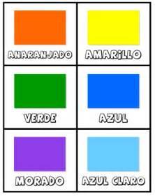 color cards free los colores activity set printable