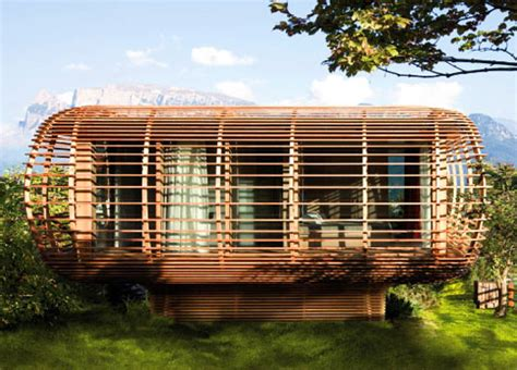 eco design house fincube eco home packs panoramic views into a tiny footprint prefab architecture