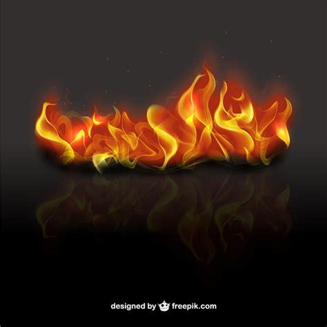 3d flames vector free