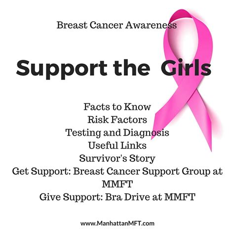 M And Ms Support Breast Cancer Research And Programs breast cancer awareness month manhattan marriage and