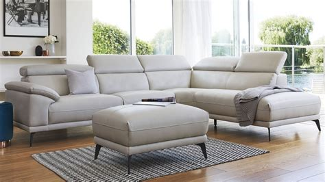 siena corner sofa right hand modern leather corner sofa living room uk