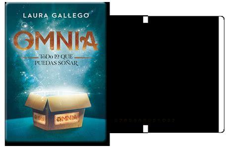 libro omnia todo lo que rese 241 a omnia todo lo que puedas so 241 ar laura gallego paperblog