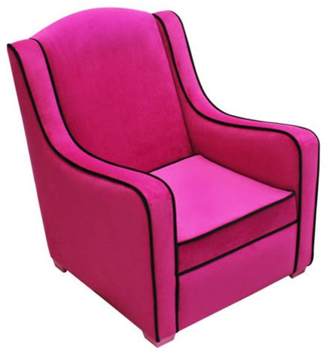 hot pink accent chair hot pink and black bedrooms hot newco international tween camille chair hot pink black