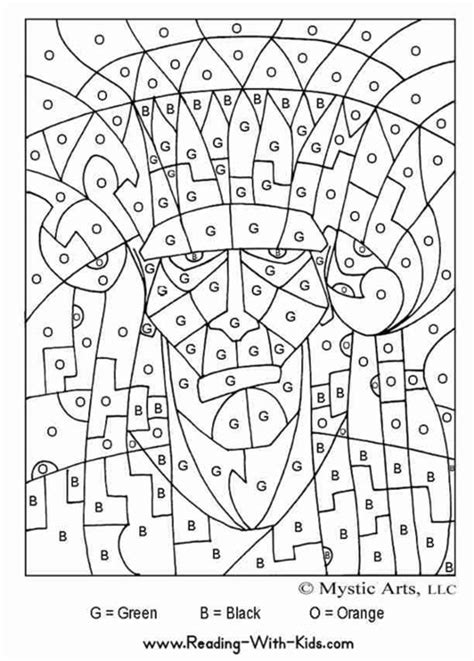 halloween coloring pages by numbers free coloring pages of multiplication color by number