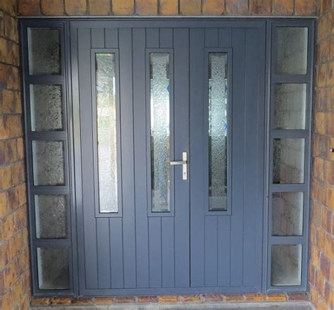 Front Doors Nz Aluminium Doors Nz Eurostacker 174 Options Include Panels That Go The Cladding To Provide