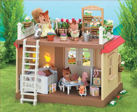 Three Days Of Light Sylvanian Families Willow Hall Conservatory House Home Ebay