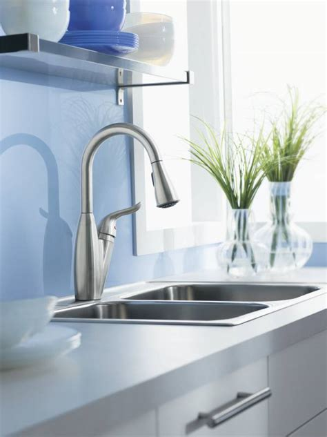 moen solidad kitchen faucet moen 87559csl solidad single handle pulldown kitchen