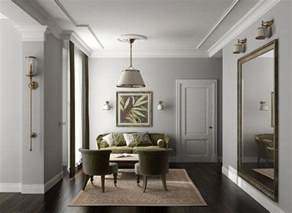 grey walls timber floors my home