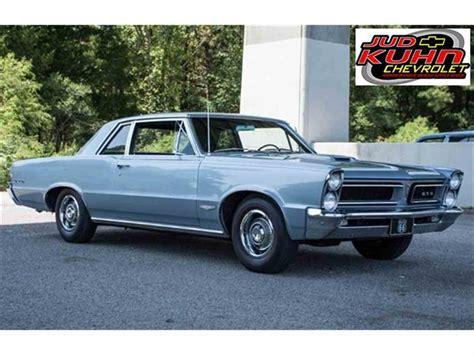 pontiac 1965 gto 1965 pontiac gto for sale classiccars cc 898137
