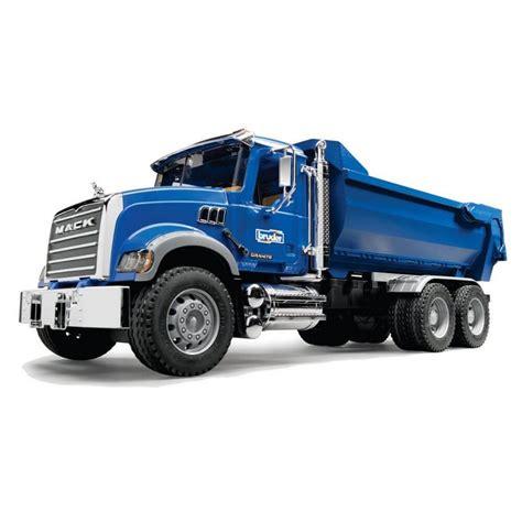 bruder truck bruder mack granite half pipe dump truck jadrem toys