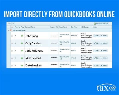 quickbooks tutorial w2 sync your 1099 vendors from quickbooks online to tax1099