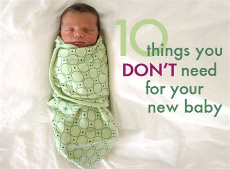 things you need for a room ten things you don t need to buy for your new baby