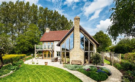 house design cost uk oak frame self build replacement dwelling homebuilding