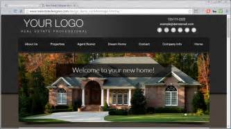 real estate design templates 48 mobile friendly real estate website templates available
