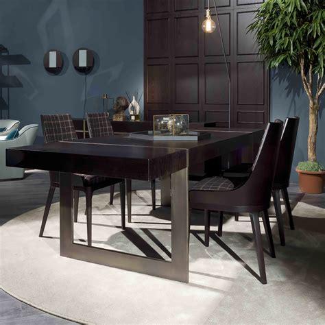large high  modern italian designer dining table