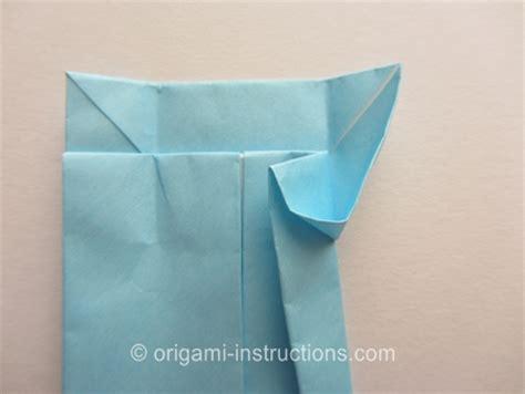 Origami Knot - origami tie folding