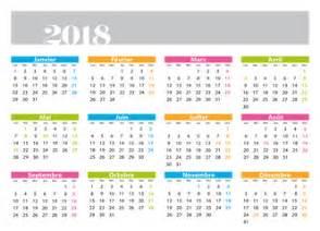 Calendrier 2018 2ème Semestre à Imprimer Photos Illustrations Et Vid 233 Os De Quot Calendrier Horizontal Quot