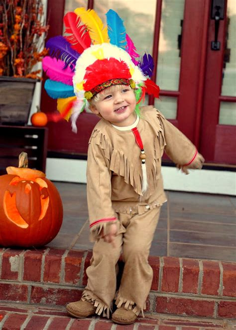 diy toddler boy costumes american indian costume kid size for boys