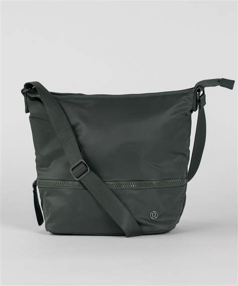 lululemon go lightly crossbody bag lululemon go lightly shoulder bag 9l dark forest