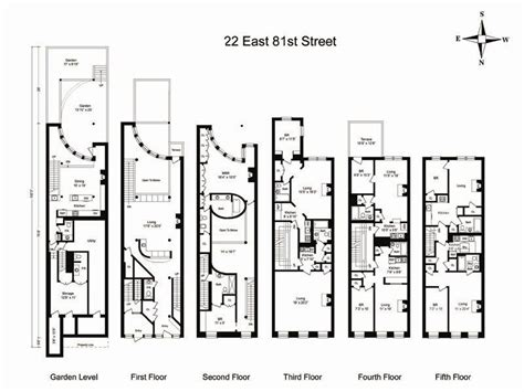 new york townhouse floor plans new york townhouse floor plans car interior design