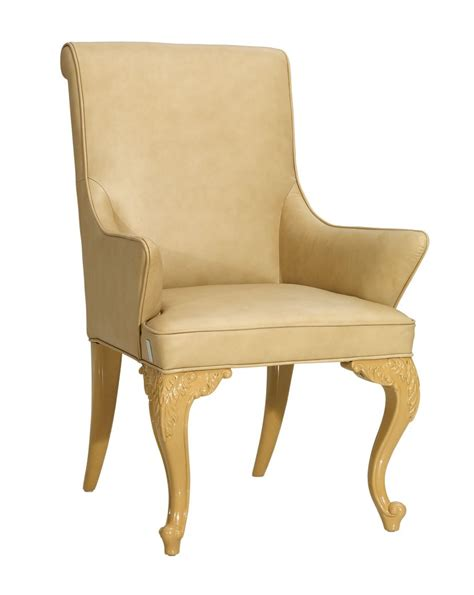 Leather Dining Armchair by Regency Style Leather Dining Armchair