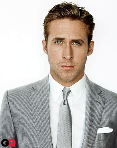 ryan gosling gq hairstyle how to look like a movie star photos gq
