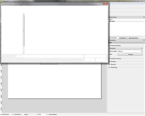 dwg format in qgis bug report 9734 composer drawing rectangle causes high
