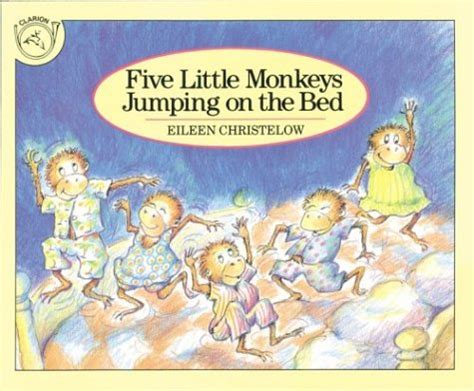 5 monkeys jumping on the bed five little monkeys jumping on the bed english 271