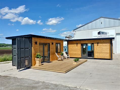 Office Container 20 shipping container office studio tiny house